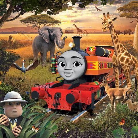 <span>Nia is one of the new characters. She's an adventurous and fun engine who teaches Thomas a lesson about the meaning of friendship</span> <span>Credit: Mattel </span>