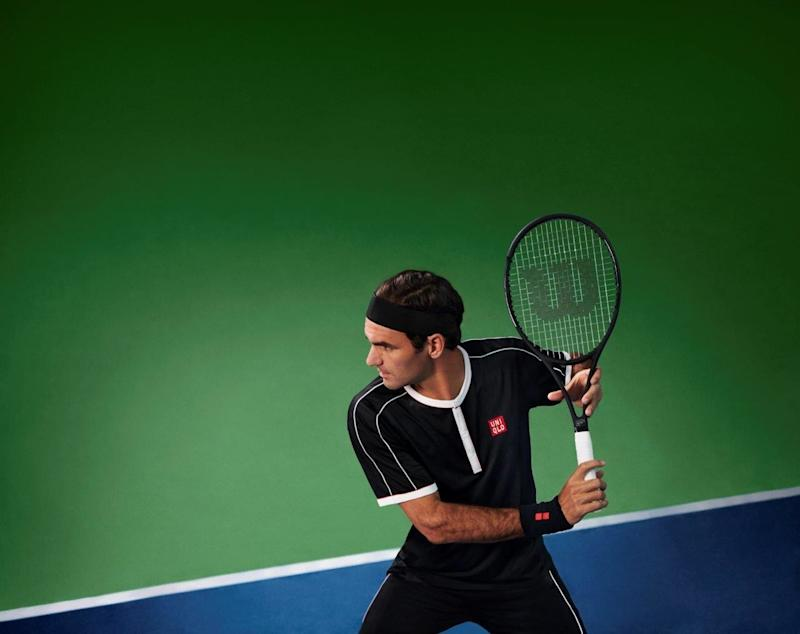 Roger Federer Unveils His US Open On-Court Look With Uniqlo