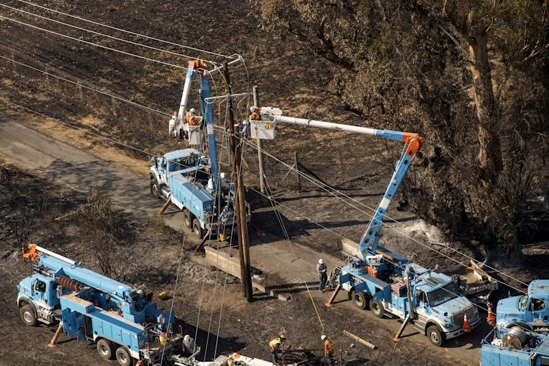 PG&E Edison Plunge as Wall Street Weighs California Wildfire RiskMore