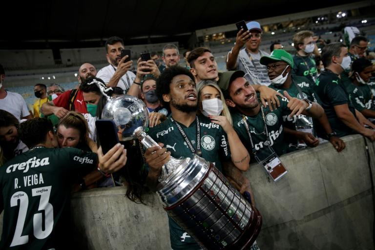 Football-mad Brazil has mostly been holding matches without fans, though several hundred were allowed in for the Copa Libertadores final in Rio de Janeiro in January