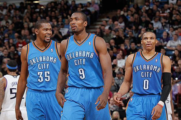 The 10-man rotation, starring the Thunder, whom we might be underrating, weird as that sounds