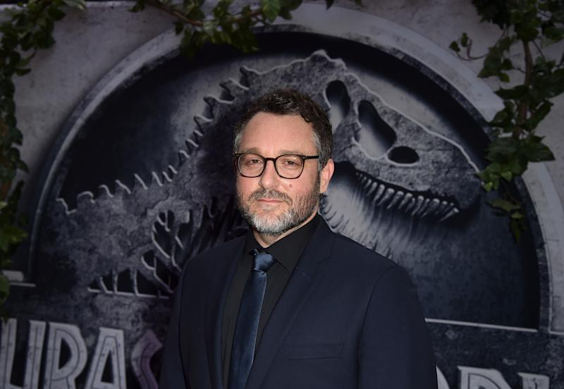 "HOLLYWOOD, CA - JUNE 09: Writer/Director Colin Trevorrow attends the Universal Pictures' ""Jurassic World"" premiere at the Dolby Theatre on June 9, 2015 in Hollywood, California. (Photo by Kevin Winter/Getty Images)"