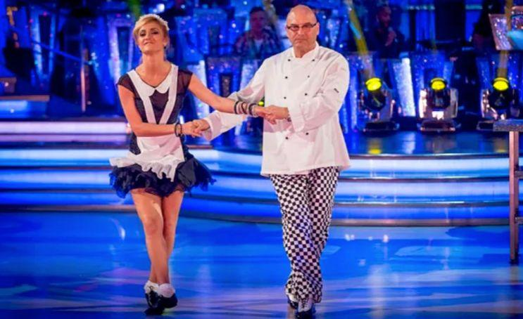 """Fern isn't the only ex-'Strictly' contestant to have a tough time with their partner, with 'Masterchef' star Gregg Wallace later slating Aliona after they were given the boot.<br /><br />Throwing shade in an interview with OK! Magazine, he remarked that Aliona was responsible for their elimination, claiming: """"I love dancing, but if I were paired with somebody who liked me then I would have done better."""""""