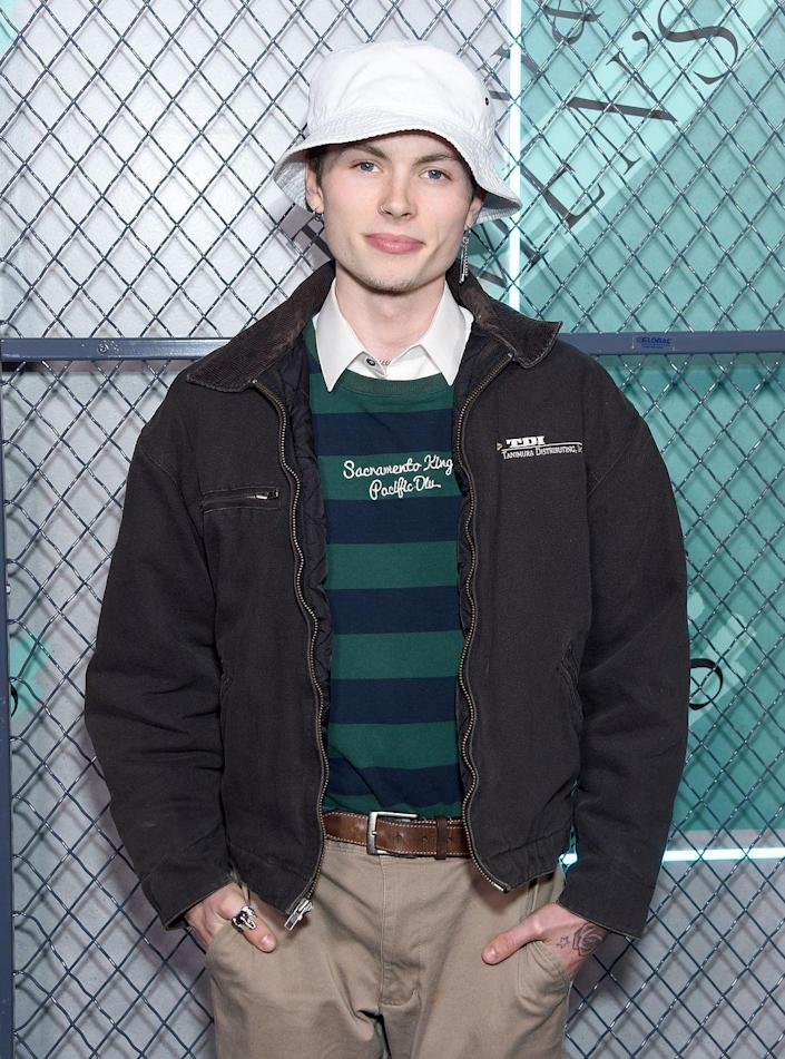 <p>The 19-year-old can be caught flaunting his great genes on the runway and attended the launch of Tiffany & Co. Men's Collection late last year.</p>