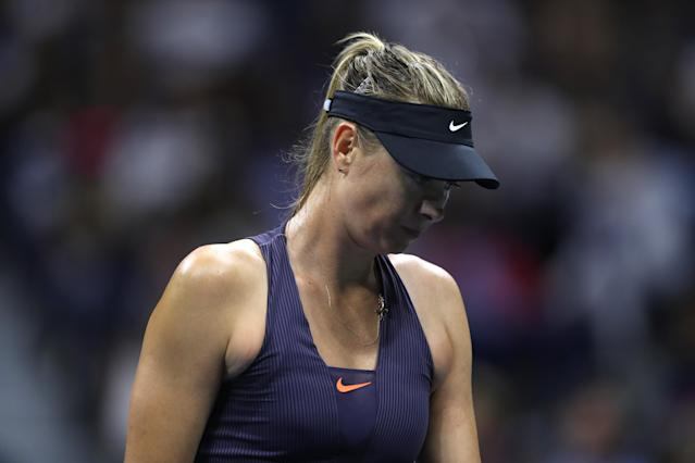 Maria Sharapova was no match for Serena Williams on Monday. (Getty)