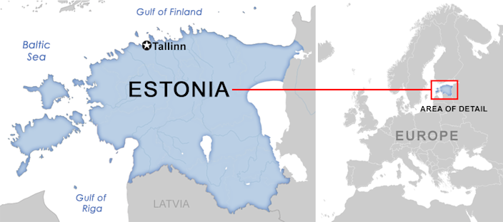 Of course, with Estonia's position as a smaller country on Russia's border, Kaljulaid has strong incentive not to criticize the United States, a key NATO ally. (Yahoo News)