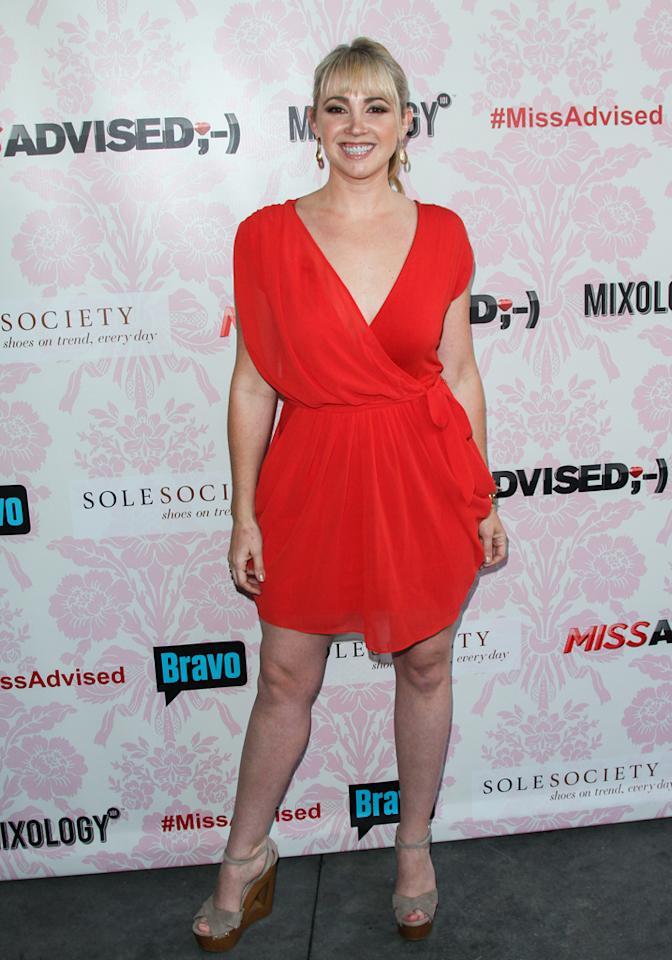 """Jennifer Tisdale attends the viewing party for Bravo's new series """"Miss Advised"""" at the Planet Dailies & Mixology 101 on June 18, 2012 in Los Angeles, California."""