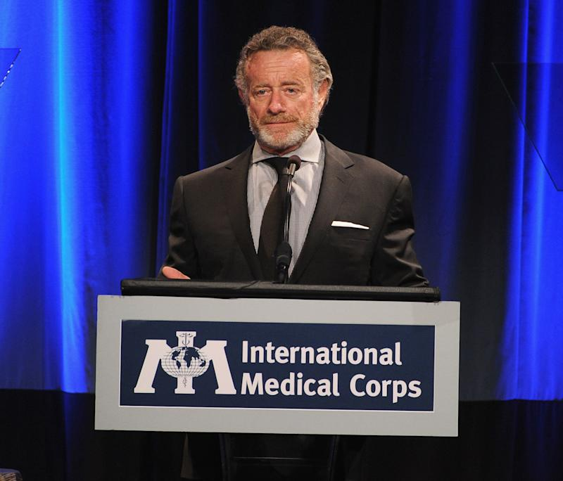 "NPR CEO Jarl Mohn will take at least a month leave to address a ""dangerous level"" of hypertension. (Kevin Winter via Getty Images)"