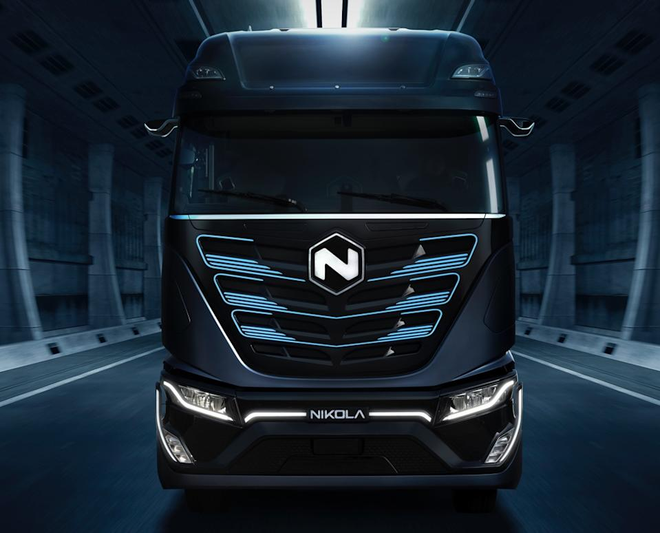 Alternative energy vehicle maker Nikola has been accused of committing a vast fraud by short-seller Hindenburg Research, prompting investigations by the SEC and DOJ. (Image: Nikola)
