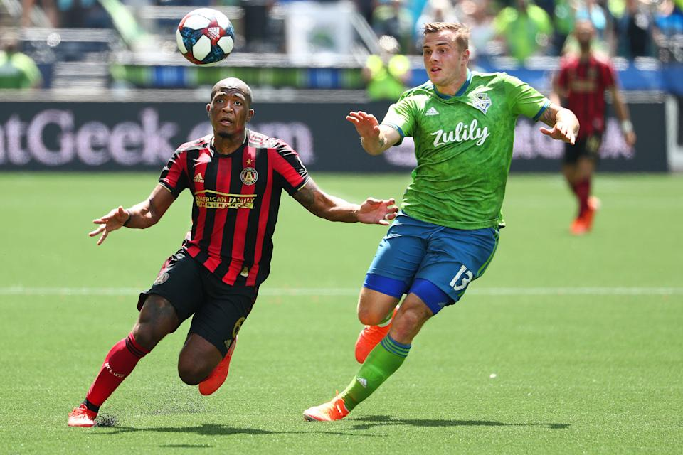 The Seattle Sounders and Atlanta United are two of Major League Soccer's best-run franchises, but a bigger spending commitment on talent across the league would do wonders for the strength of the product. (Photo by Abbie Parr/Getty Images)