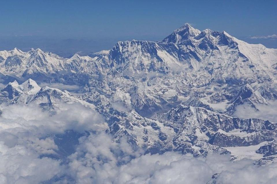 Mount Everest from a distance