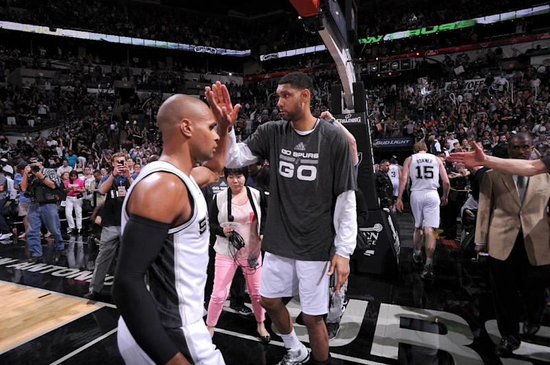 Spurs look to close out wild series with Thunder