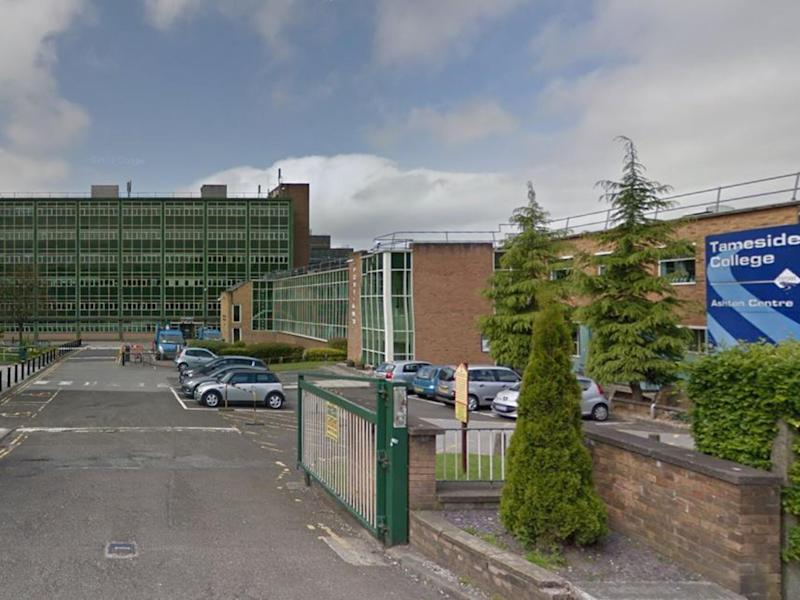 Students and staff at Tameside College were evacuated after the college received a threat on social media: Google Street View