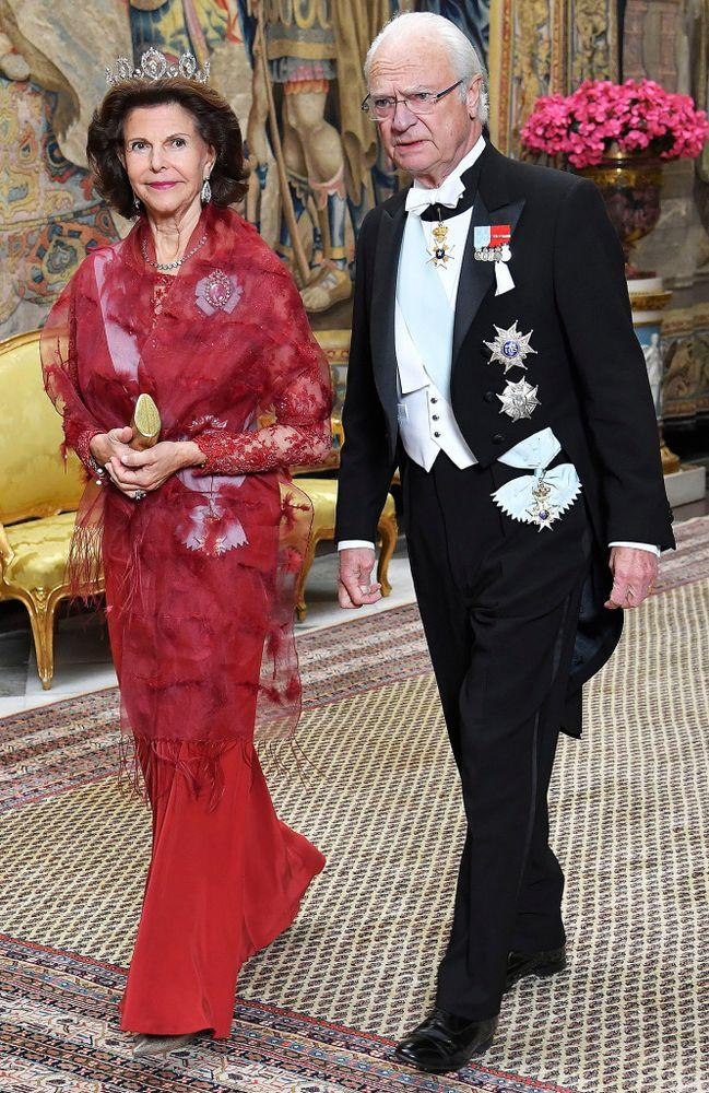 Queen Silvia and King Carl Gustaf | IBL/Shutterstock