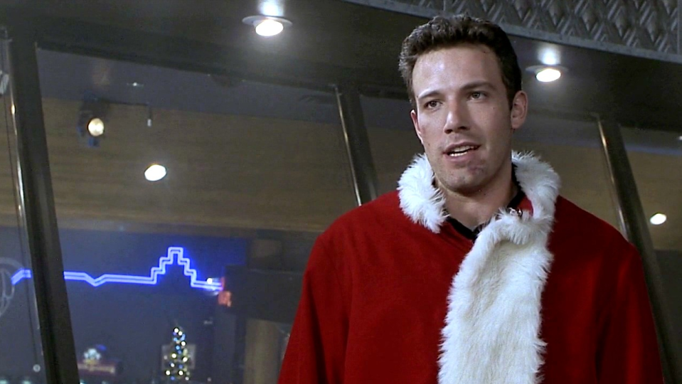 """<p>In the height of """"Bennifer"""" mania, Affleck starred in the holiday rom-com <em>Surviving Christmas</em>. The film follows a lonely and egotistical young millionaire (Affleck) who must pay to have """"family"""" around for the holidays. The release of the film was delayed by almost a year, and it hardly brought in any money at the box office... making it a mostly forgotten holiday flick that <a href=""""https://nypost.com/2014/10/10/10-years-ago-ben-afflecks-career-barely-survived-surviving-christmas/"""" rel=""""nofollow noopener"""" target=""""_blank"""" data-ylk=""""slk:nearly ended"""" class=""""link rapid-noclick-resp"""">nearly ended</a> Affleck's career.</p>"""