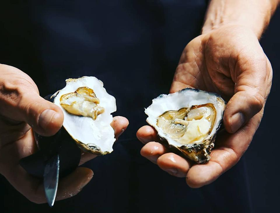 Shucked oyster (PHOTO: Oyster Cart Singapore)