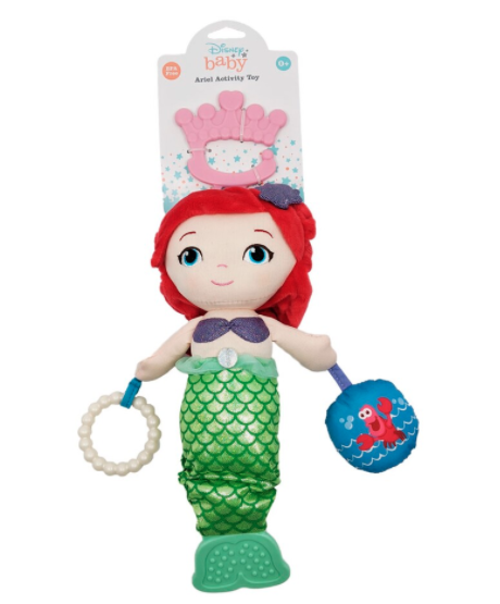 Stock image of Big W Disney Baby Princess Ariel Activity Toy