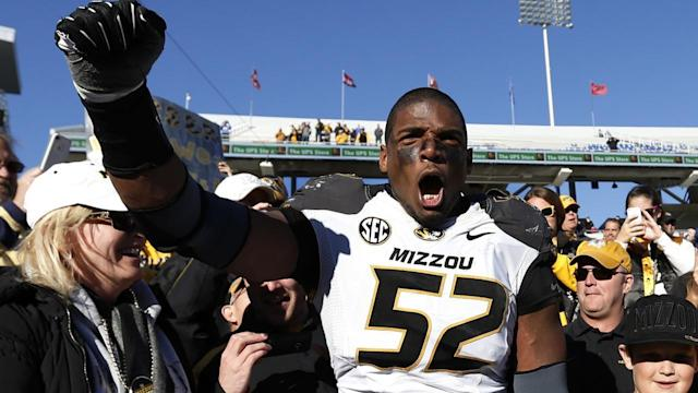 "ESPN ""Outside the Lines"" producer Greg Amante was there for the interview when University of Missouri defensive lineman Michael Sam revealed that he is gay. Mr. Amante joins the News Hub with the NFL is ready for an openly gay player. Photo: Getty Images."