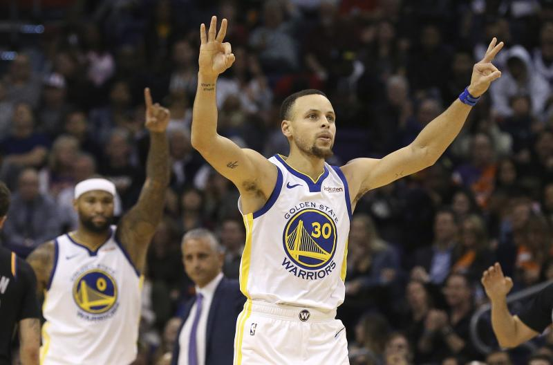 Stephen Curry knows how to hit some threes. More