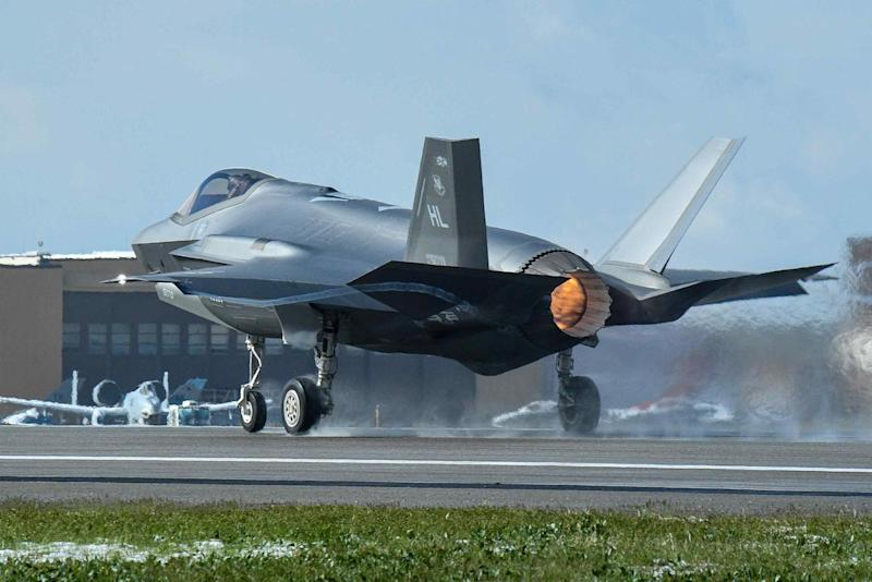 Flights Stopped at Hill Air Force Base After F-35A's Landing Gear Collapses