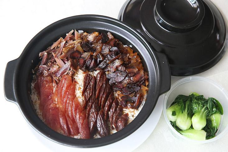 The highlight of Chinese New Year is their 'lap mei fan' with fragrant rice topped with an assortment of waxed meats that include a decadent goose.