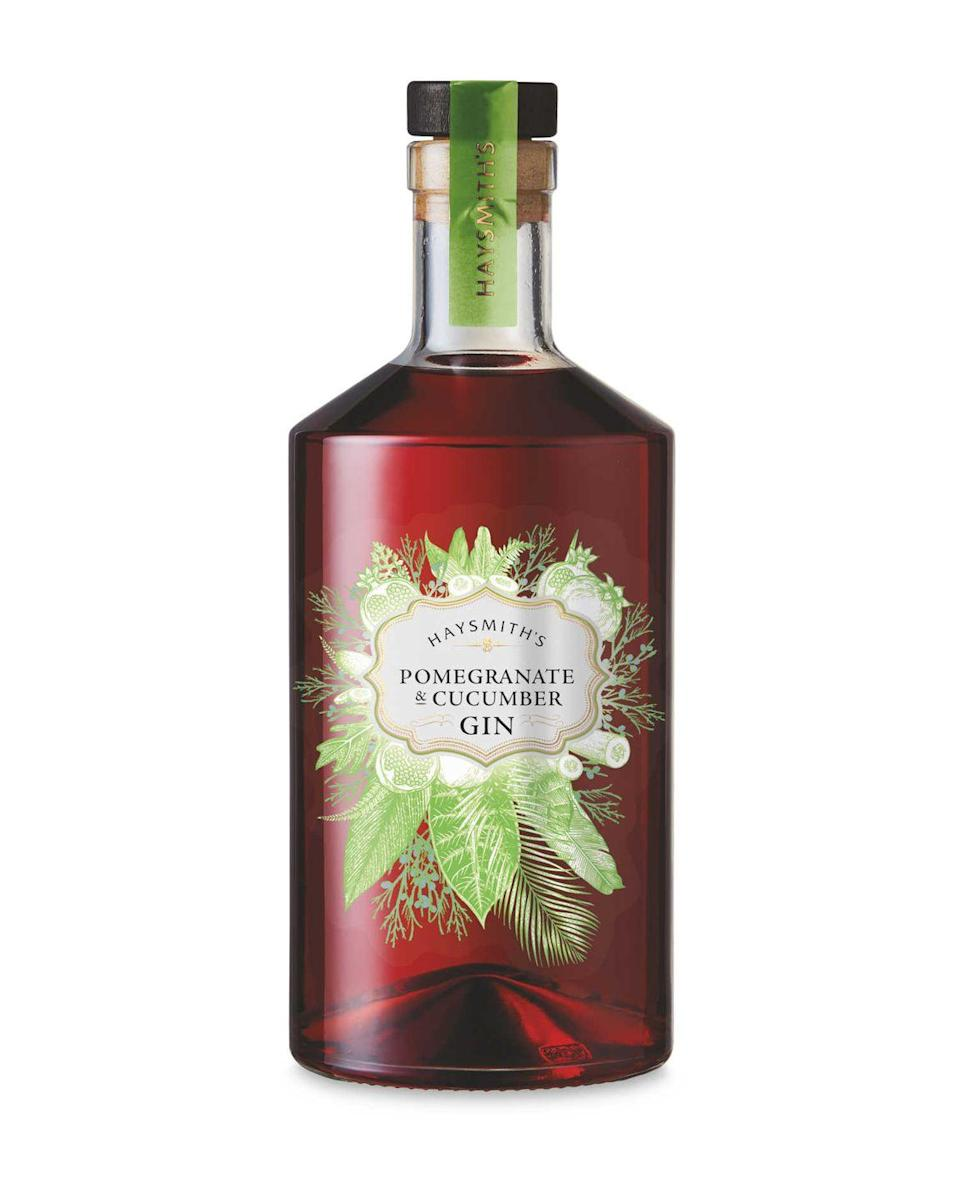 <p>We're obsessed with this flavour combo. How refreshing?! This delightful new gin brings the flavour of summer with its juicy pomegranate and cucumber flavours.</p><p><strong>Available in Aldi stores, £14.99</strong></p>