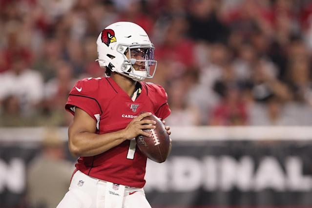 Fantasy expectations should be dialed back for Kyler Murray in his first month of NFL action. (Photo by Christian Petersen/Getty Images)