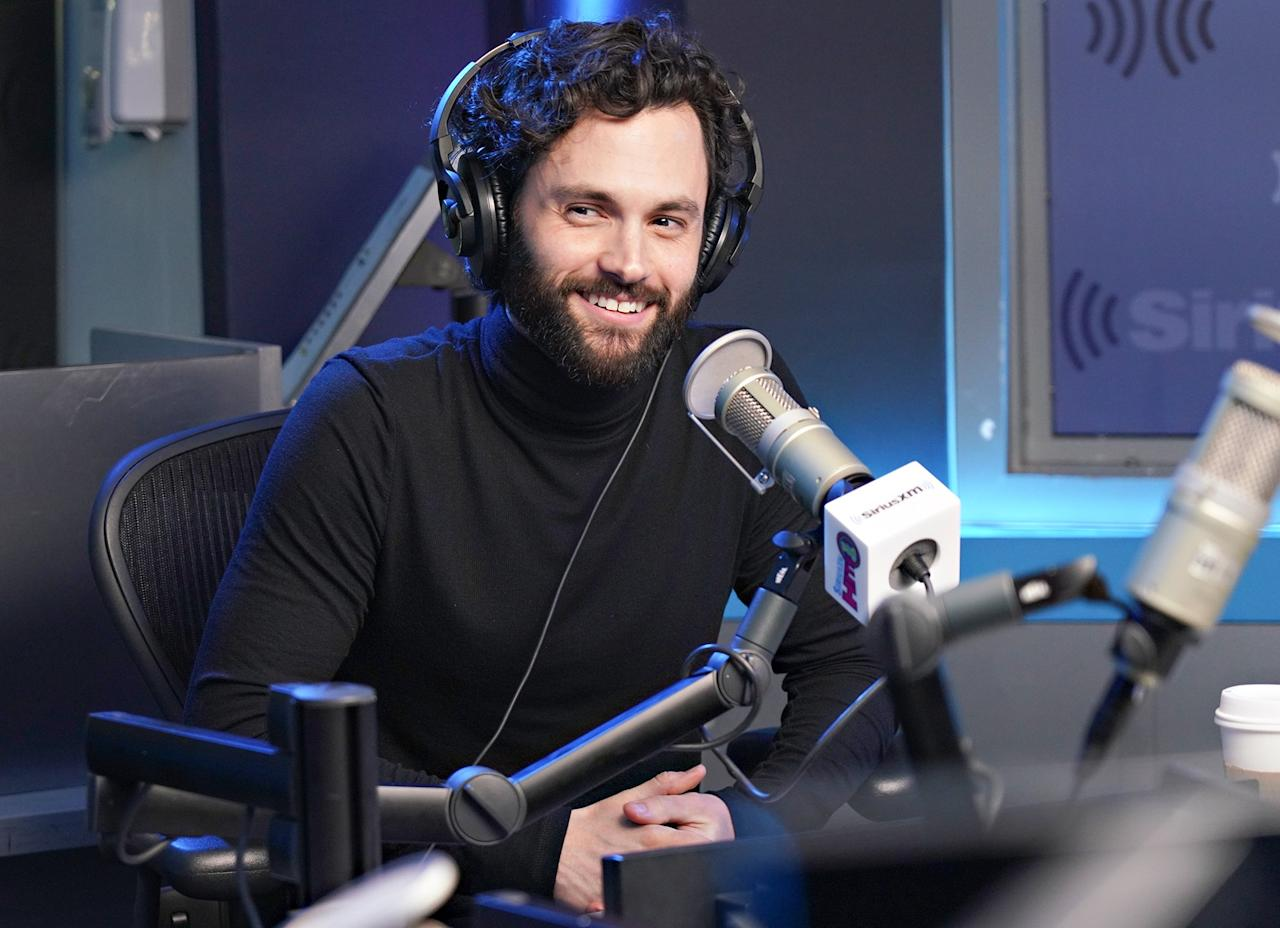 <em>You</em> star Penn Badgley stops by SiriusXM Studios in New York City on Wednesday to talk about season 2 of his hit show.