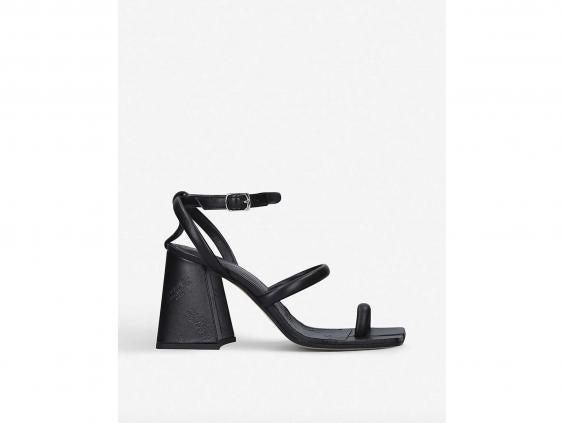 A simple black heeled pair of shoes will go with everything in your wardrobe (Selfridges)