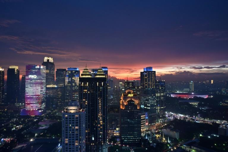 Jakarta is one of the world's fastest-sinking cities and is at risk from earthquakes and floods