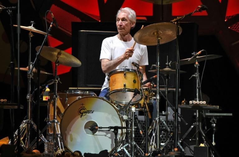 Rolling Stones drummer Charlie Watts' calm style counterbalanced the onstage flamboyance of the band's other members