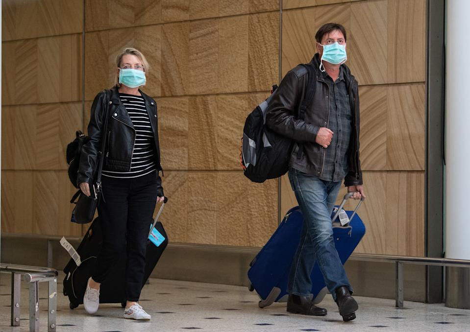 Countries are now evaluating their need to wear face masks. Source: AAP