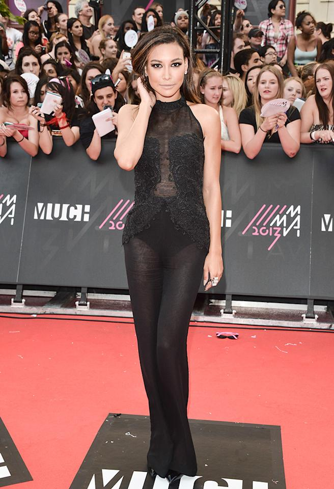 TORONTO, ON - JUNE 16:  Actress Naya Rivera arrives at the 2013 MuchMusic Video Awards at MuchMusic HQ on June 16, 2013 in Toronto, Canada.  (Photo by George Pimentel/WireImage)
