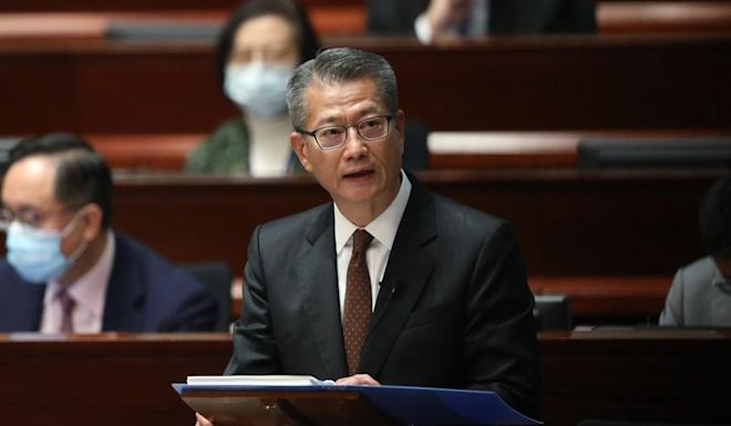 Financial Secretary Paul Chan says Hong Kong needs to identify new economic drivers to tackle the challenges from an ageing population. Photo: K. Y. Cheng