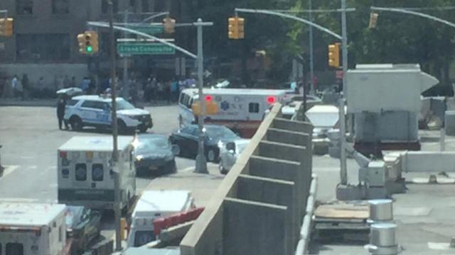 <p>Officials confirm shots were fired inside Bronx-Lebanon Hospital Center in the Bronx on Friday afternoon. (WABC-TV) </p>