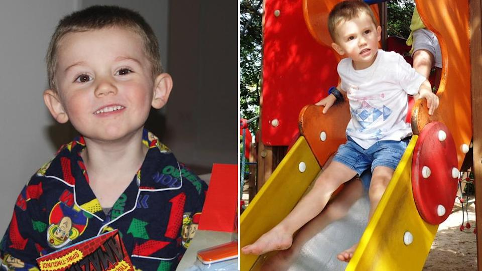 William Tyrrell disappeared when he was three years old. Source: AAP