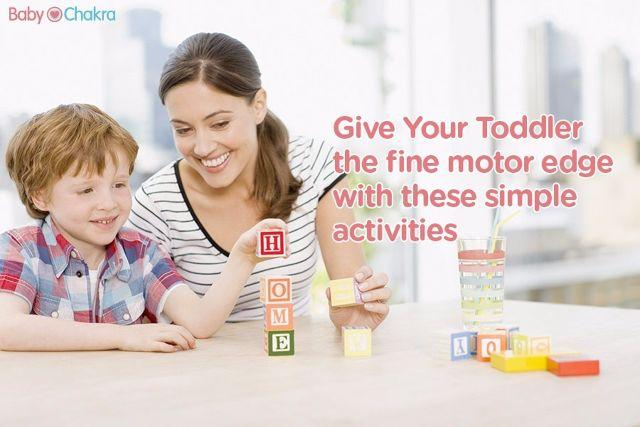 How to Develop Your Child's Brain: 20 Months - Fine Motor