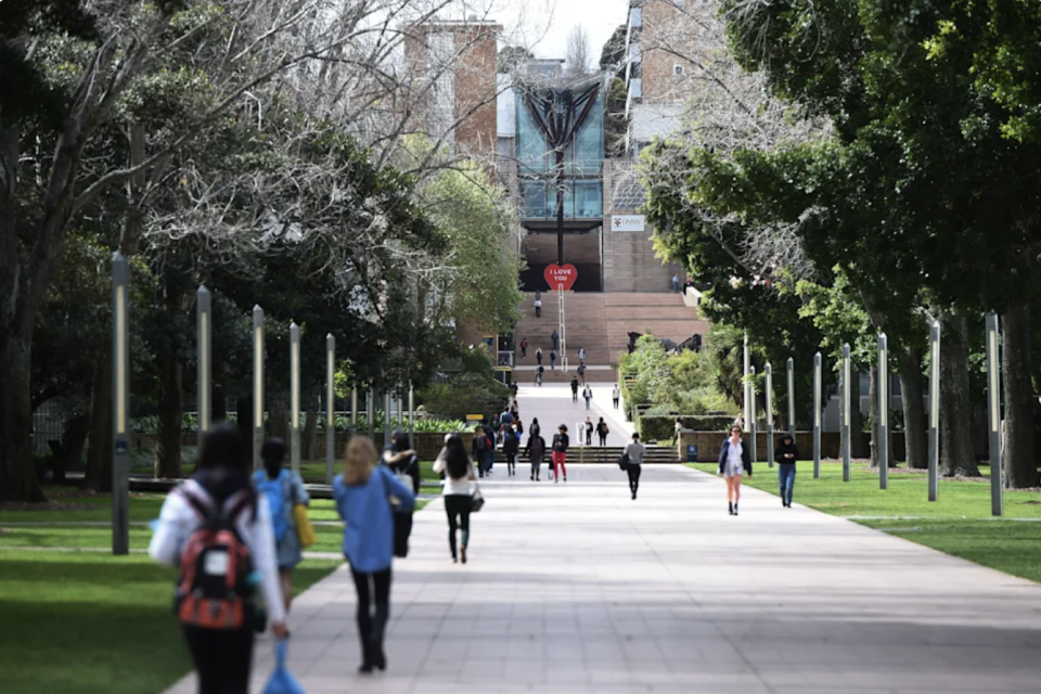 Australian universities have stifled freedom of speech to appease Chinese students, a new report claims. Source: AAP