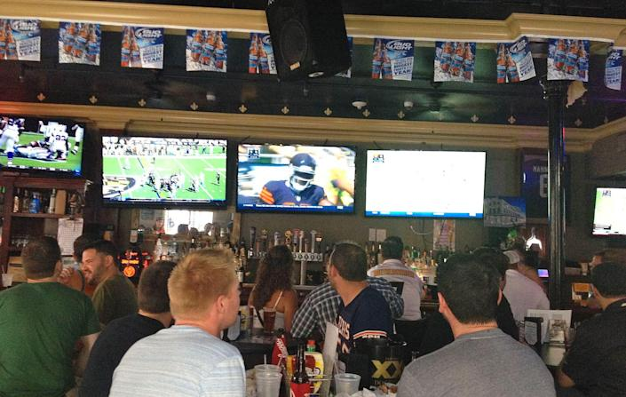 American Sports Saloon, New Orleans, Sports Bars