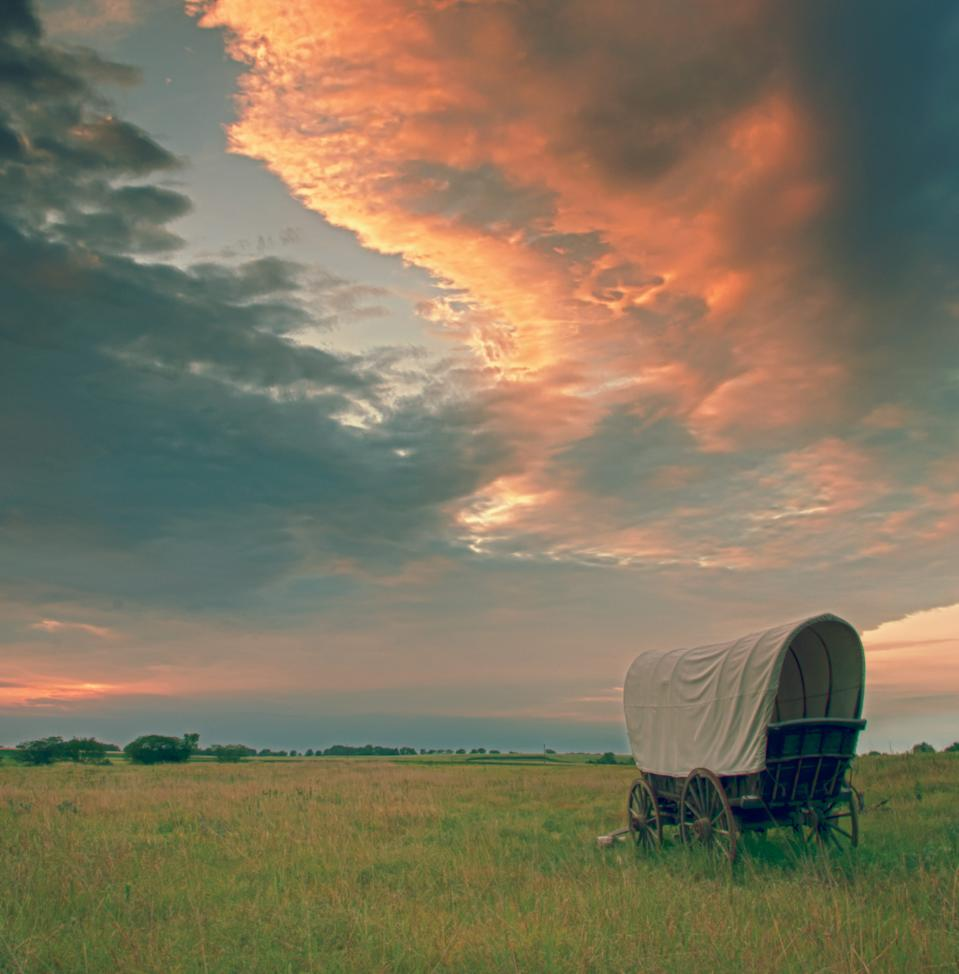 """For old-school video game players, the sight of a covered wagon and the words """"Oregon Trail"""" bring about thoughts of dying of dysentery. Don't let that scare you off a trip along the pioneer trail."""