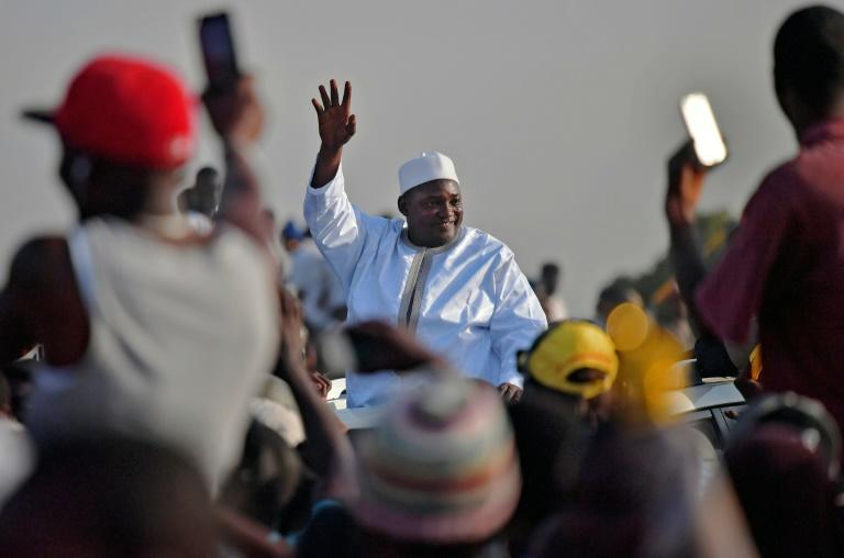 The Gambia's President Adama Barrow defeated longtime leader Yahya Jammeh at polls in December