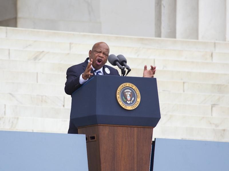 """Rep. John Lewis is urging Atlantans to protest peacefully. He said that violence is not the way. """"Rioting, looting, and burning is not the way,"""" he said."""