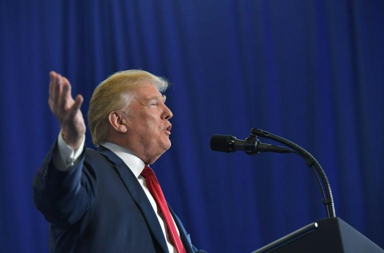 US President Donald Trump unveiled his new plan to combat the opioid crisis in a speech in New Hampshire