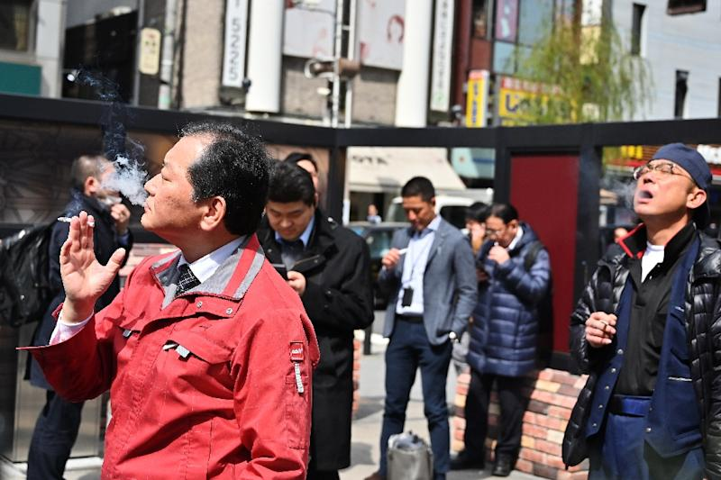 Smoking rates have plunged in Japan, particularly among men, with only 28 percent of the male population now smoking