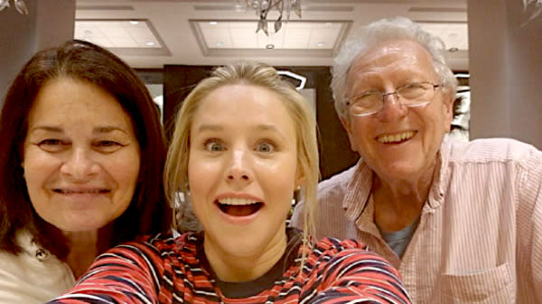 Kristen Bell Heroically Saved Josh Gad's Parents From Hurricane Irma