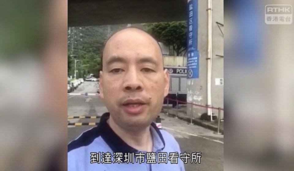 Lawyer Lu Siwei, who has also been threatened with disbarment in recent days. Photo: RTHK