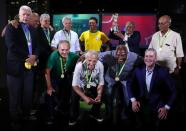 Pele's statue unveiled on the 50th anniversary of the 1970 World Cup victory