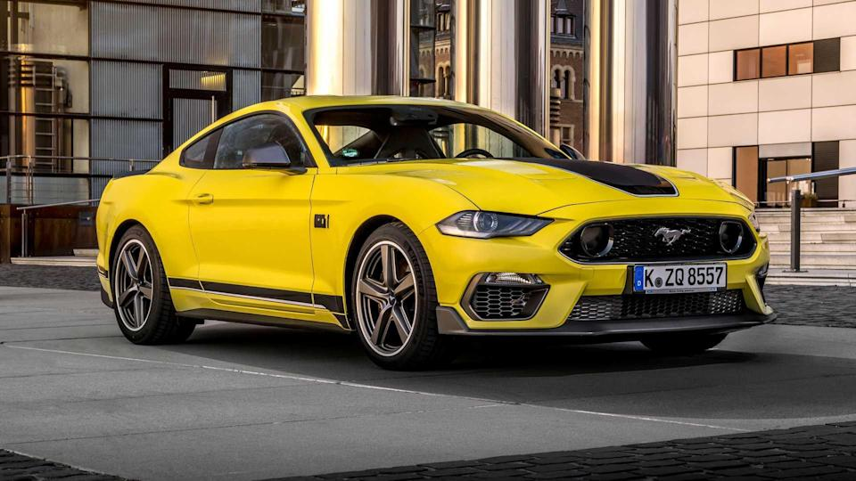 2021 Ford Mustang Mach 1 for Europe