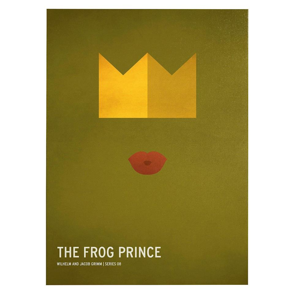 <p>Turn their walls into a fairytale with <span>The Frog Prince by Christian Jackson Wall Art</span> ($50).</p>