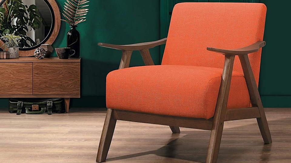 This Lexicon accent chair earned praise from customers for its sturdy design and comfortable feel.